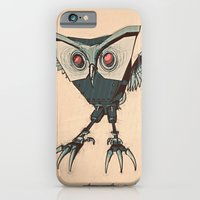 iPhone & iPod Case featuring ANGRY BIRD METAL by dvdesign