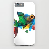 iPhone & iPod Case featuring colorful fish by Hande Unver