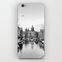 Symmetric Amsterdam iPhone & iPod Skin