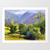 Fading Light Art Print