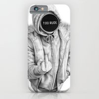 iPhone & iPod Case featuring Censored by Rena Littleson
