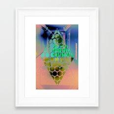 Wisconsin Ave. Framed Art Print