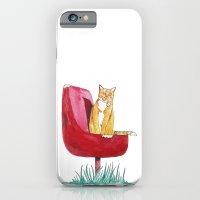 Rusty Cat iPhone 6 Slim Case