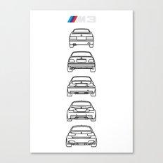 M3 Rears Canvas Print
