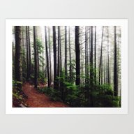 Art Print featuring Sound Of The Trees by StayWild