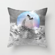 Maybe The Wolf Is In Lov… Throw Pillow