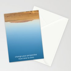 Change your perspective from time to time. Stationery Cards