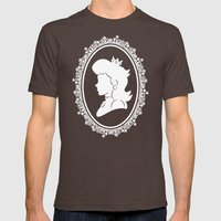 The Princess  Mens Fitted Tee Brown SMALL
