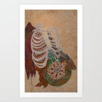 Wings For Adam Art Print