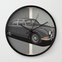 Jaguar S-Type Wall Clock