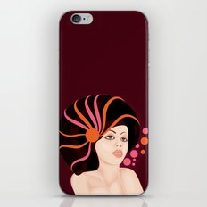 Snail Lady iPhone & iPod Skin