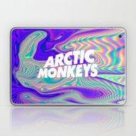 Psychedelic Arctic Monke… Laptop & iPad Skin