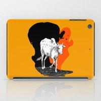 COW IS GOD iPad Case