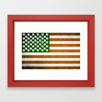 Irish American 015 Framed Art Print
