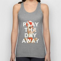 Play The Day Away Unisex Tank Top