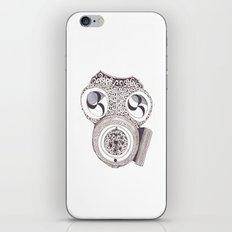 Celtic gasmask iPhone & iPod Skin