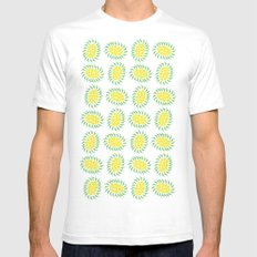Seeds Mens Fitted Tee SMALL White
