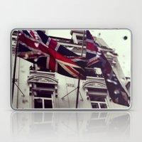 Raise the flag Laptop & iPad Skin