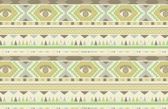 Aztec Eye Art Print