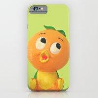 iPhone & iPod Case featuring Orange Bird by Hilary Walker