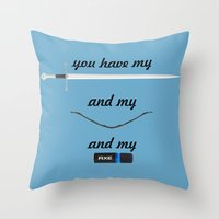 You Have - Lord of The Rings Throw Pillow