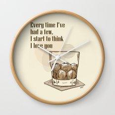 Scotch Love by RonkyTonk Wall Clock
