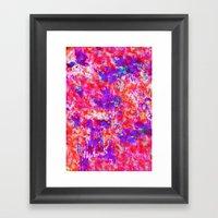 FLORAL SUNSET Framed Art Print