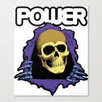 The POWER of Greyskull - He-Man Canvas Print