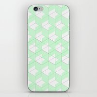 Mint Crush iPhone & iPod Skin