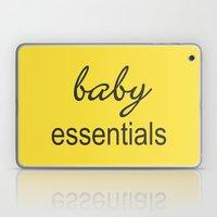 Baby Essentials Pantone 2016-Buttercup Laptop & iPad Skin