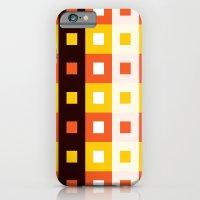 Stripes & Squares iPhone 6 Slim Case