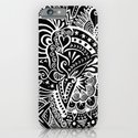 Rebirth Zentangle iPhone & iPod Case