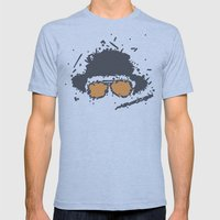 Fear And Loathing In Las… Mens Fitted Tee Athletic Blue SMALL