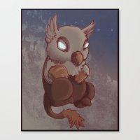 Griffin Nugget Canvas Print