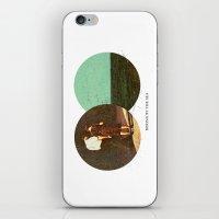 Boring By The Sea | Coll… iPhone & iPod Skin