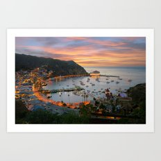Catalina Island Art Print