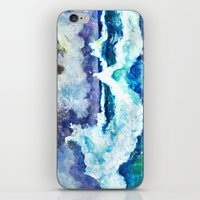 Stormy Sea iPhone & iPod Skin