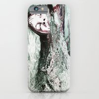 iPhone & iPod Case featuring Go Swimming by MARIA BOZINA - PRINT