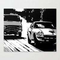 Cars #1 Canvas Print
