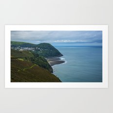 Lynmouth North Devon Art Print