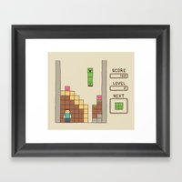 Unfortunate Framed Art Print