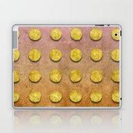 Laptop & iPad Skin featuring Golden Float by LebensART