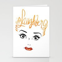Bombshell Series: Laughter - Lucille Ball Stationery Cards