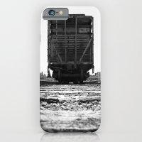 Train car waits iPhone 6 Slim Case
