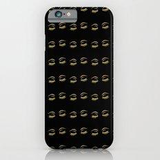 Eye Lashes in Black iPhone 6 Slim Case