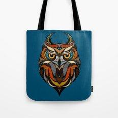 Oldschool Owl Tote Bag