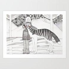 Andres Art Print