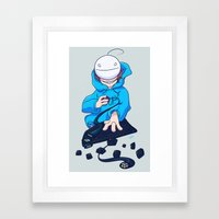 Cryaotic  Framed Art Print