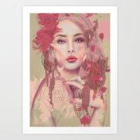 Petals And Thorns Art Print