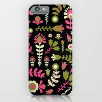 iPhone & iPod Case featuring flowers by Hanna Ruusulampi